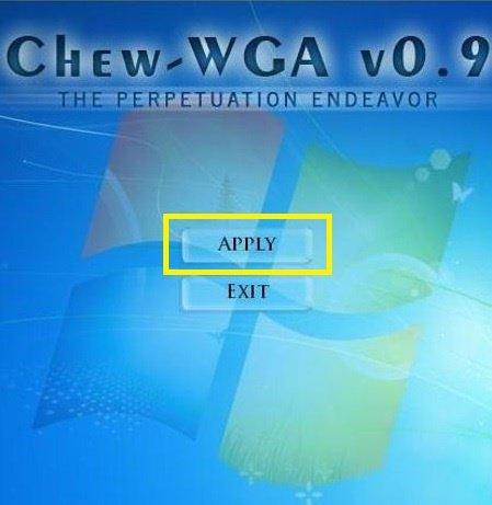 Активатор Chew-WGA